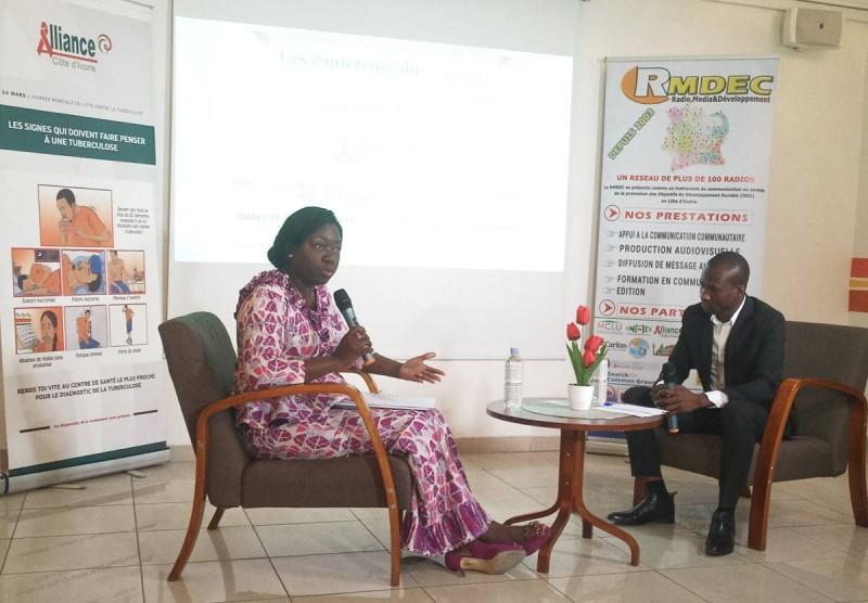 Dr Offia Coulibaly Madiarra? Directrice exécutive de l'Alliance Côte d'Ivoire (Ph: Salif D. CHEICKNA)