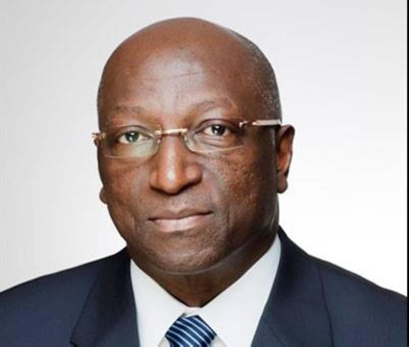Jacques Bernard Daniel Anouma, candidat au poste de président de la CAF. (DR)