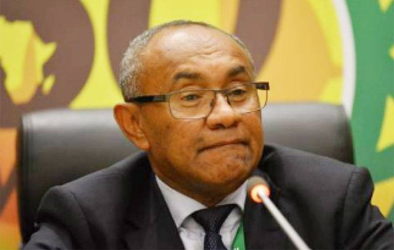 Ahmad Ahmad, ex-président de la CAF. (DR)