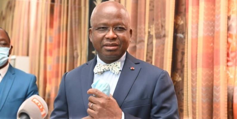 Moussa Dosso, ministre des Ressources animales et halieutiques. (DR)