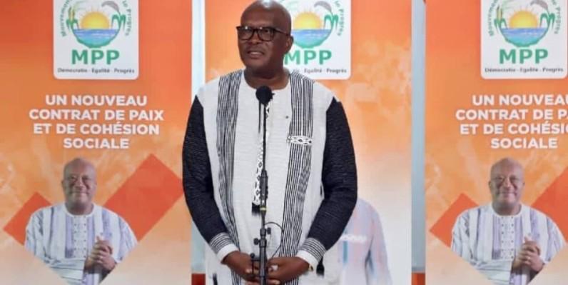 Roch Marc Christian Kaboré réélu au premier tour. (Dr)