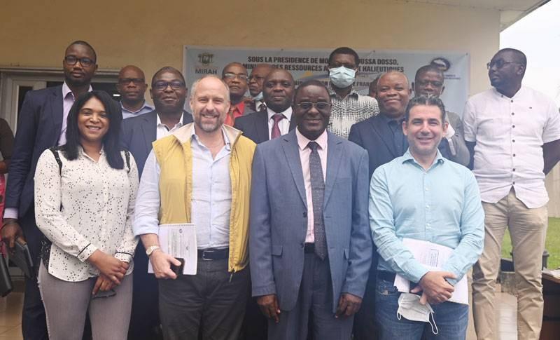 Dr Méité Anzoumana Anliou, représentant le ministre Dosso Moussa, s'est félicité de la tenue de cet atelier de restitution. (DR)