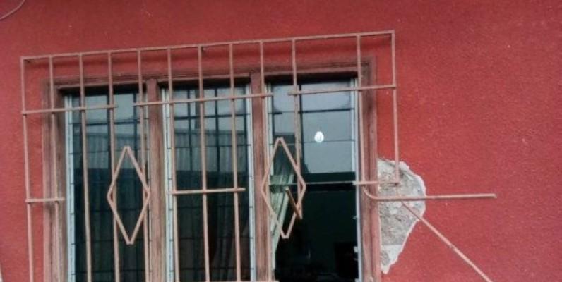 Une vue du bâtiment cambriolée. (Dr)