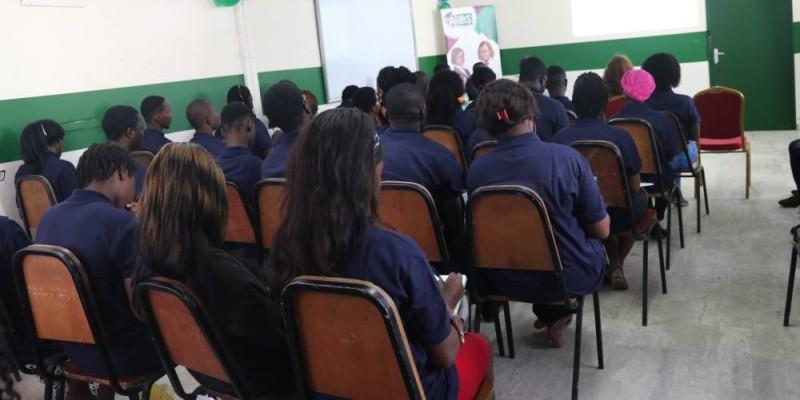 Une séance de formation appréciée par les étudiants (Kumassi Ange)