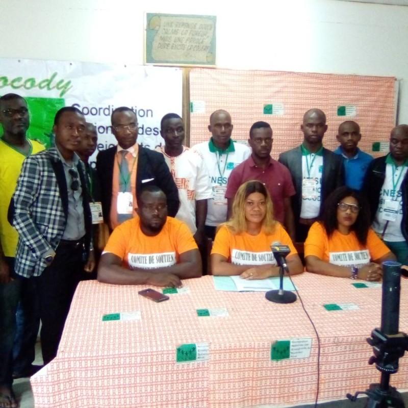 Le Comité national de soutien à la candidature du général Kouia (Cnsc-Gk), (Franck YEO)