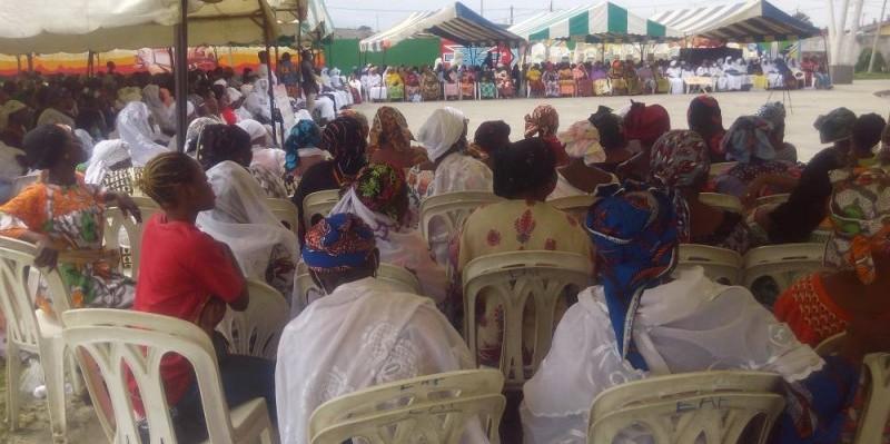 La paix était le centre d'intérêt des femmes (Bavane)