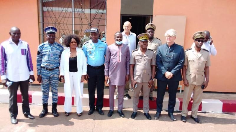 Le préfet Ibrahima Cissé s'est réjoui de l'ouverture de l'usine Promont à Duékoué. (DR)