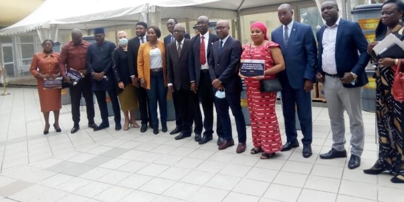 Les représentants des faîtières ont exprimé leur joie de poursuivre la lutte contre la pandémie à Covid-19. (Dr)