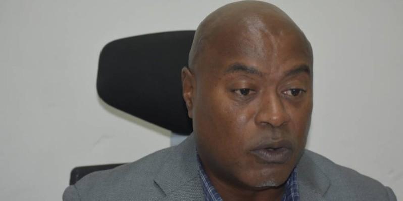 Dr Eric Allangba, médecin au Centre national de médecine du sport de l'INJS. (Photo : Kouika Bavane)