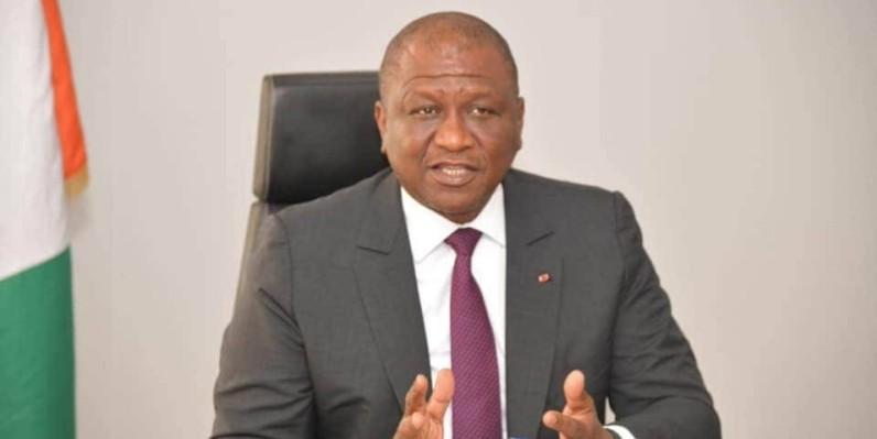 Le Premier ministre, ministre de la Défense, Hamed Bakayoko. (DR)