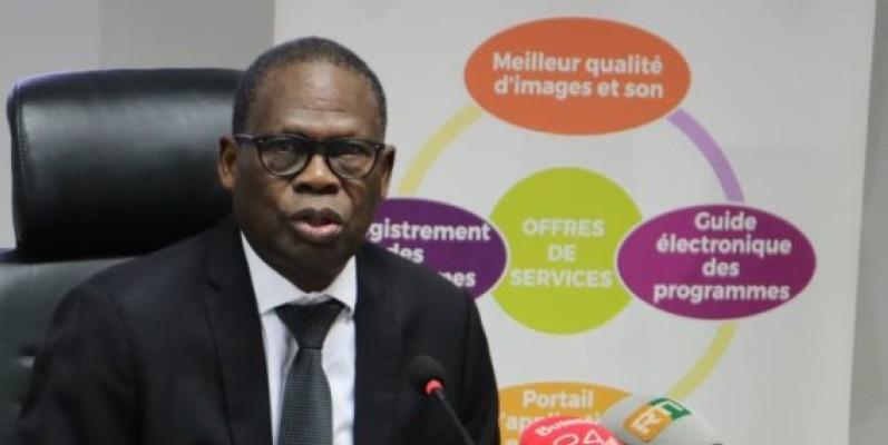 Le directeur général de la société ivoirienne de télédiffusion a rappelé à la presse les avantage de la Tnt. (Dr)