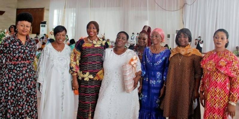 Femmes de la plateforme AGC. (Dr)