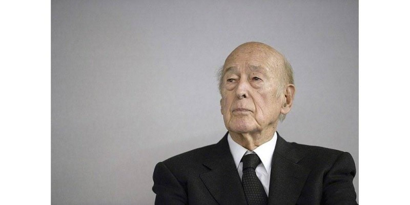 L'ancien président de la République Valéry Giscard d'Estaing