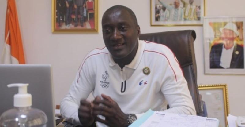 Yssouf Diabaté, président du Sporting club de Gagnoa. (Photos : DR)