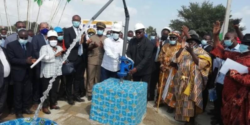 Les populations ont désormais de l'eau potable. (DR)