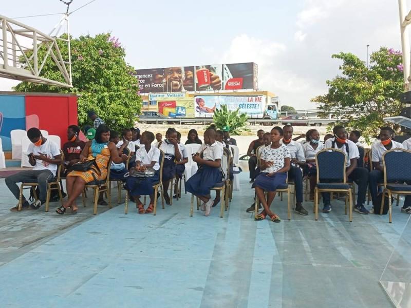 Grande mobilisation des élèves
