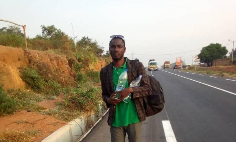 #lamarchepourlapaix, M. Koffi aux portes d'Abidjan
