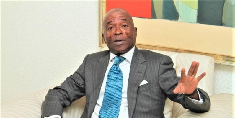 Me Georges N'Goan, président de la Fédération ivoirienne de tennis. (DR)