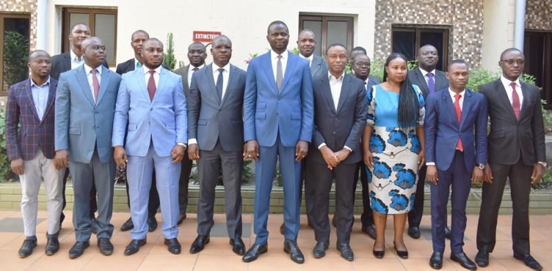 Les membres de la direction générale de l'Économie participant au séminaire. (photo : Dr)