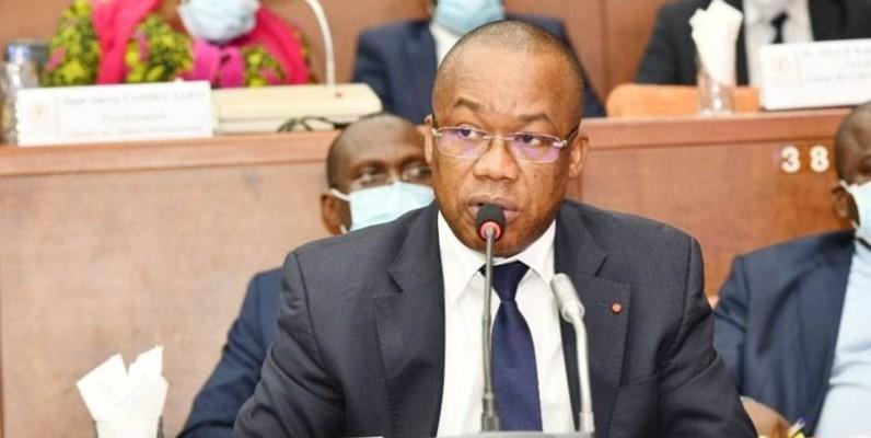 Dr. Brice Kouassi, secrétaire d'Etat en charge de l'Enseignement technique et de la formation professionnelle. (DR)