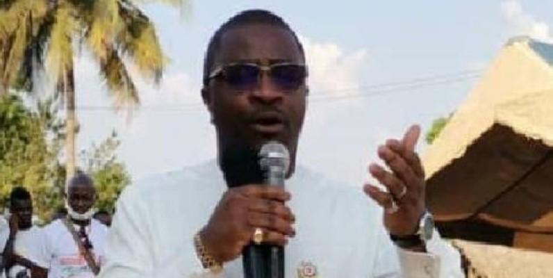 Tailly Thierry, député de Bangolo sous-préfecture et commune.