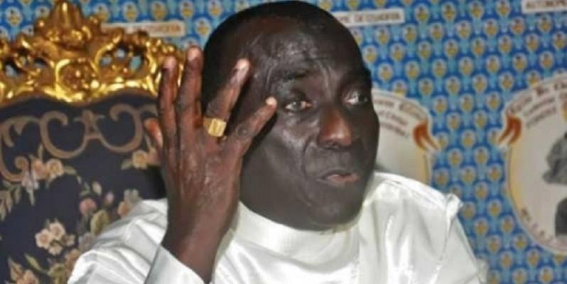 Le révérend Ediémou Blin Jacob, président du Forum national des confessions religieuses de Côte d'Ivoire. (photo : Dr)