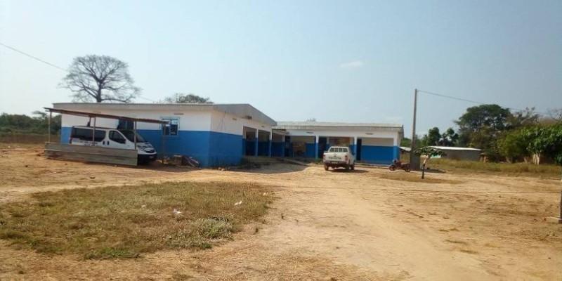 Le Centre de santé rural (CSR) de Bingoro, dans la région du Worodougou. (DR)