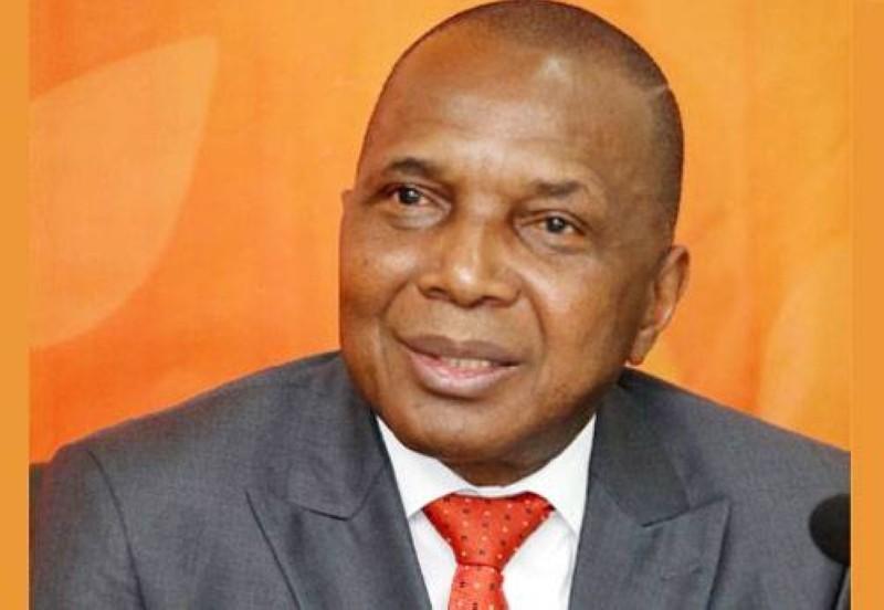 Jean-Claude Kouassi, ministre des Mines et de la Géologie. (photo : Dr)