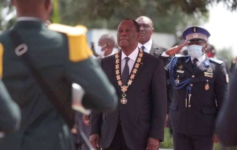 Le president Alassane Ouattara
