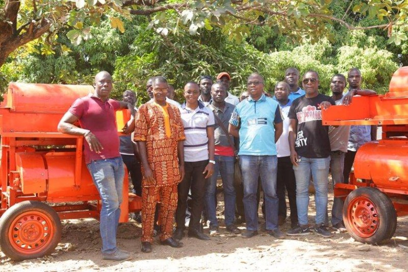 Les bénéficiaires ont exprimé leur reconnaissance à la GIZ et à Brassivoire pour ces outils. (DR)