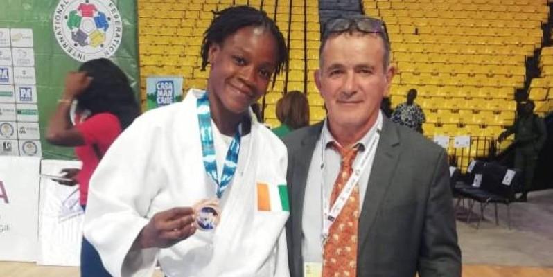 Dabonne Zouleiha termine 2e de sa catégorie. (DR)