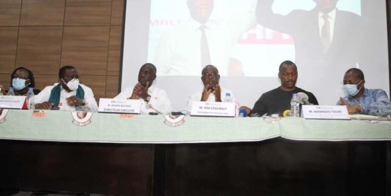 Réunion des coordinations de la Bagoué, du Poro et duTchologo. (Photo : Véronique Dadié)