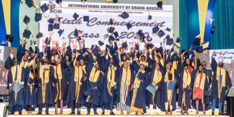Les étudiants sortants de l'Uigb, diplômés après quatre années d'études, peuvent désormais entamer une carrière professionnelle. (Dr)