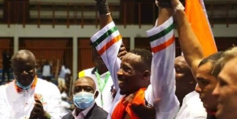 Youssouf Doumbia dit avoir travaillé dur pour ce combat. (Dr)