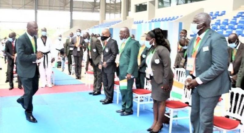 Le président Bamba Cheick ne fera pas un 4e mandat à la tête de la Fitkd. (photo : Dr)