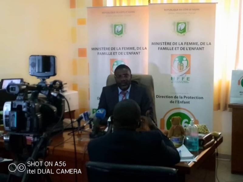 M.Lath Mel Alain Didier, directeur de la protection de l'enfant (DR)