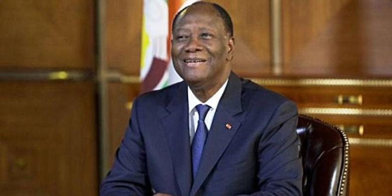 Alassane Ouattara, le Chef de l'Etat ivoirien. (DR)