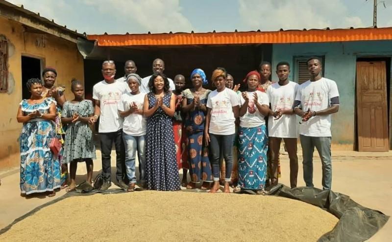 Les femmes des sous-préfectures de Botro, Diabo, Languibonou et Kofouinsou placent beaucoup d'espoir dans le projet Usifem. (photo : Sercom Adve)