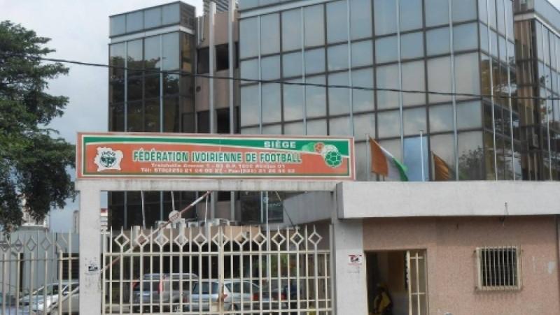 Une vue du siège de la Fédération ivoirienne de football. (Dr)