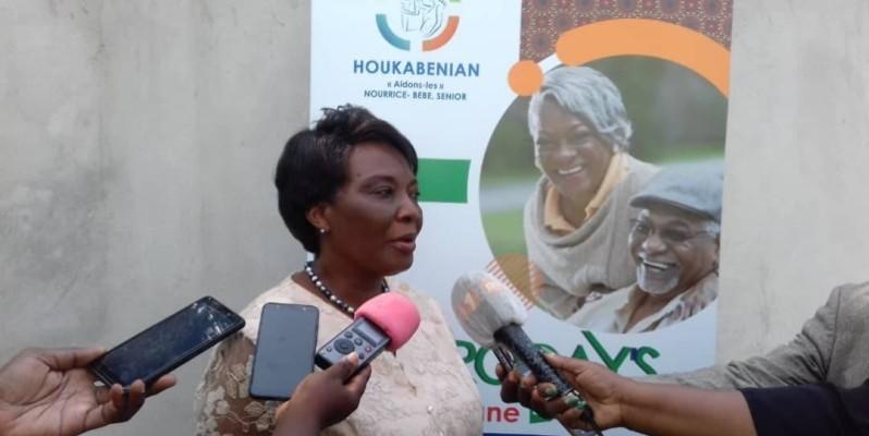 Madeleine Loukou, présidente de l'Ong Koukabenian. (DR)