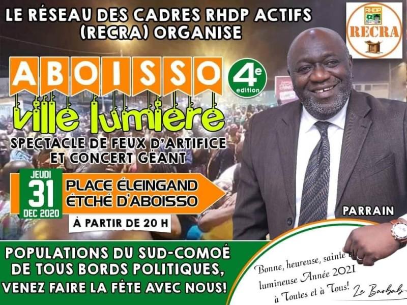 La capitale de la région du Sud-Comoé s'inscrit dans la dynamique des festivités de fin d'année dans la lumière, à l'instar d'autres villes de l'intérieur comme Bouaké.