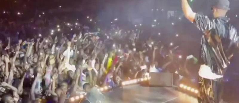 Le concert de Fally Ipupa à Bouaké n'est pas allé à son terme du fait d'un public désordonné. (Dr)