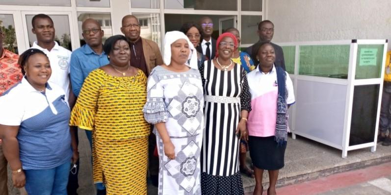Les responsables de l'Infas et ceux de « Sauvons deux vies » sont engagés à lutter contre la mortalité maternelle et néonatale. (Photo : M.Y)