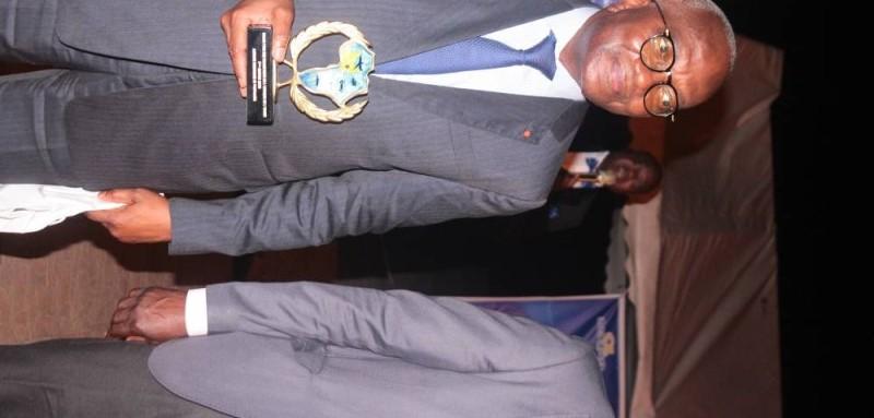 Le Dg, Hilaire Lamizana, a dit son satisfécit de la reconnaissance du travail abattu.(DR)