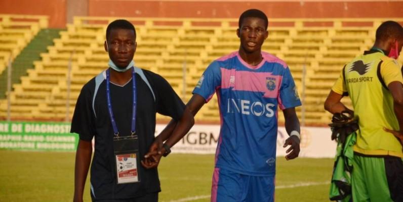 l'entraîneur Diabaté Bassiriki et ses joueurs doivent se remettre au boulot en attendant Pyramids Fc (DR)