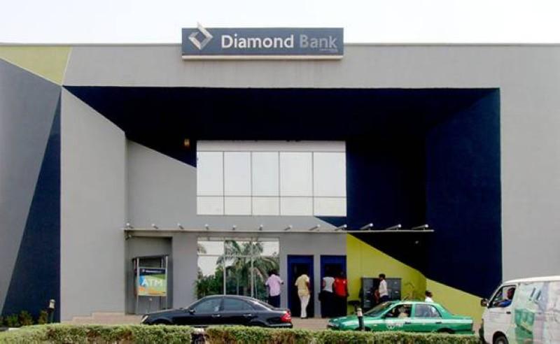 Une vue d'une agence Diamond Bank. (Dr)