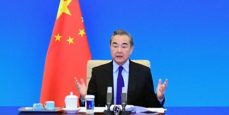 S. E. Monsieur WANG Yi, Conseiller d'Etat et Ministre des Affaires Etrangères de Chine. (DR)