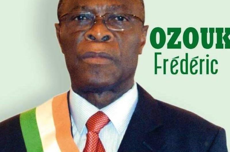 Le député Ozoukou Zéga Frédéric décédé. (DR)