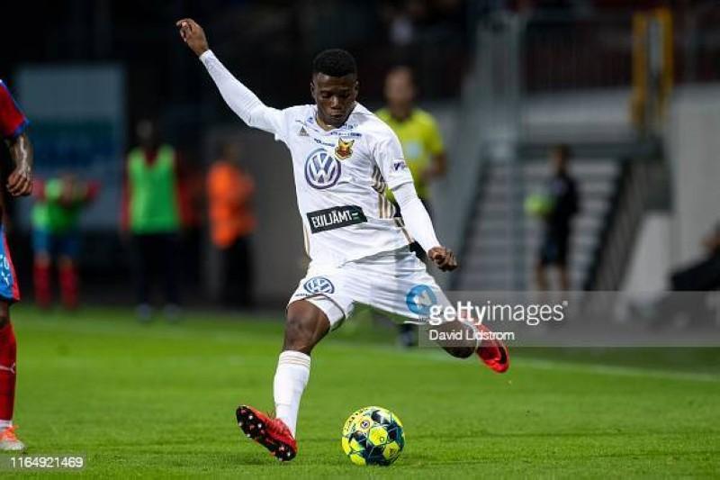 Ouattara Kalpi (Ostersunds FK). (Dr)