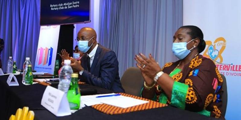Les Rotariens de Côte d'Ivoire ont levé le voile sur les articulations des 38e intervilles. (DR)